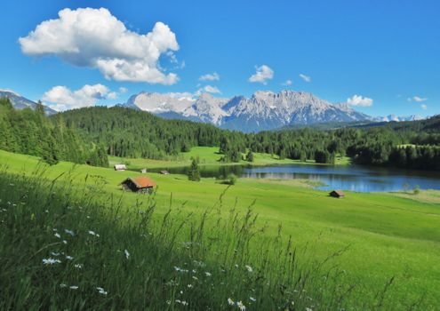 Фото бесплатно сельская местность, гора, озеро