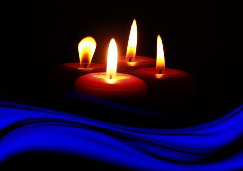 Фото бесплатно Новогодние обои, новогоднее украшение, новогодняя свеча