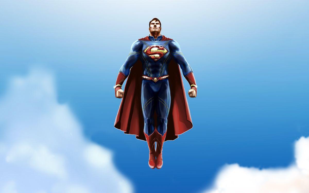 Фото бесплатно супермен, супергерои, произведения искусства - на рабочий стол