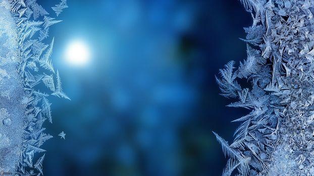 Фото бесплатно стекло, мороз, замерзшее стекло