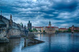 Бесплатные фото Прага,Чехия,Prague,Czech Republic,Карлов мост,Река Влтава,город