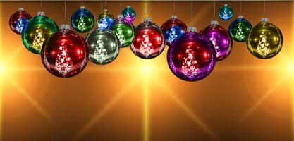 Заставки новогодние обои, украшения, рождественский орнамент