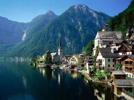 Заставки Альп, Австрии, Европе