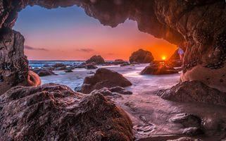 Фото бесплатно море, Калифорния, Малибу