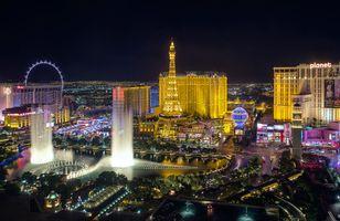 Фото бесплатно США, город, ночь город