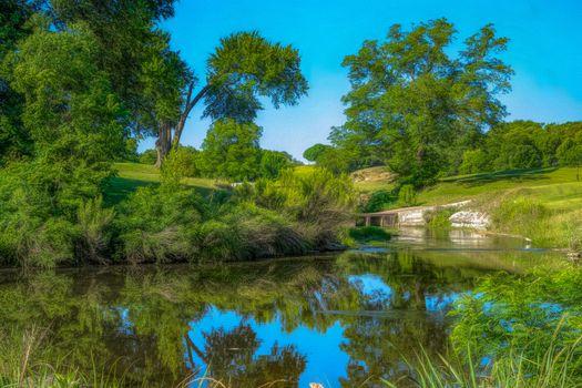 Photo free hills, nature, river