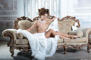 Фото бесплатно обнаженная девушка, Лена J, богиня