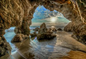 Фото бесплатно пейзаж, Малибу, пляж