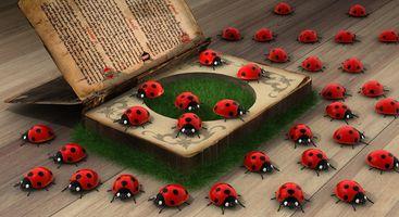 Фото бесплатно насекомое, талисман, компьютерная анимация