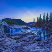 Фото бесплатно Elbow Falls, Alberta, Kananaskis