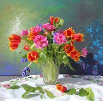 Photo free flower arrangement, flora, still life