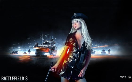 Photo free Battlefield 3, poster, screen saver