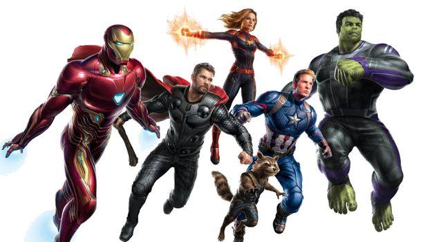 Герои из фильма Мстители · бесплатное фото