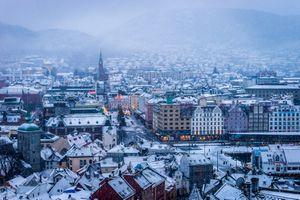 Фото бесплатно утром, Норвегия, рассвет