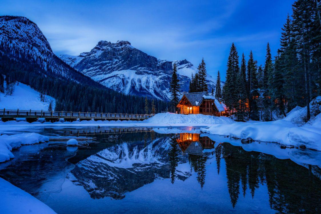 Фото бесплатно горы, пейзаж, канада - на рабочий стол