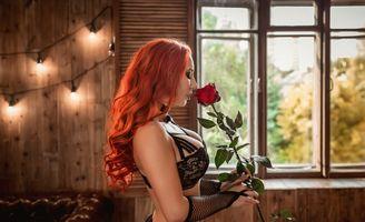 Бесплатные фото рыжая незнакомка,сексуальная девушка,beauty,сексуальная,молодая,богиня,киска