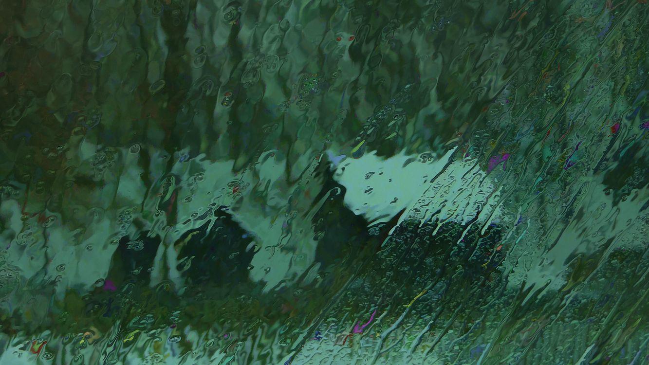 мокрое стекло · бесплатное фото