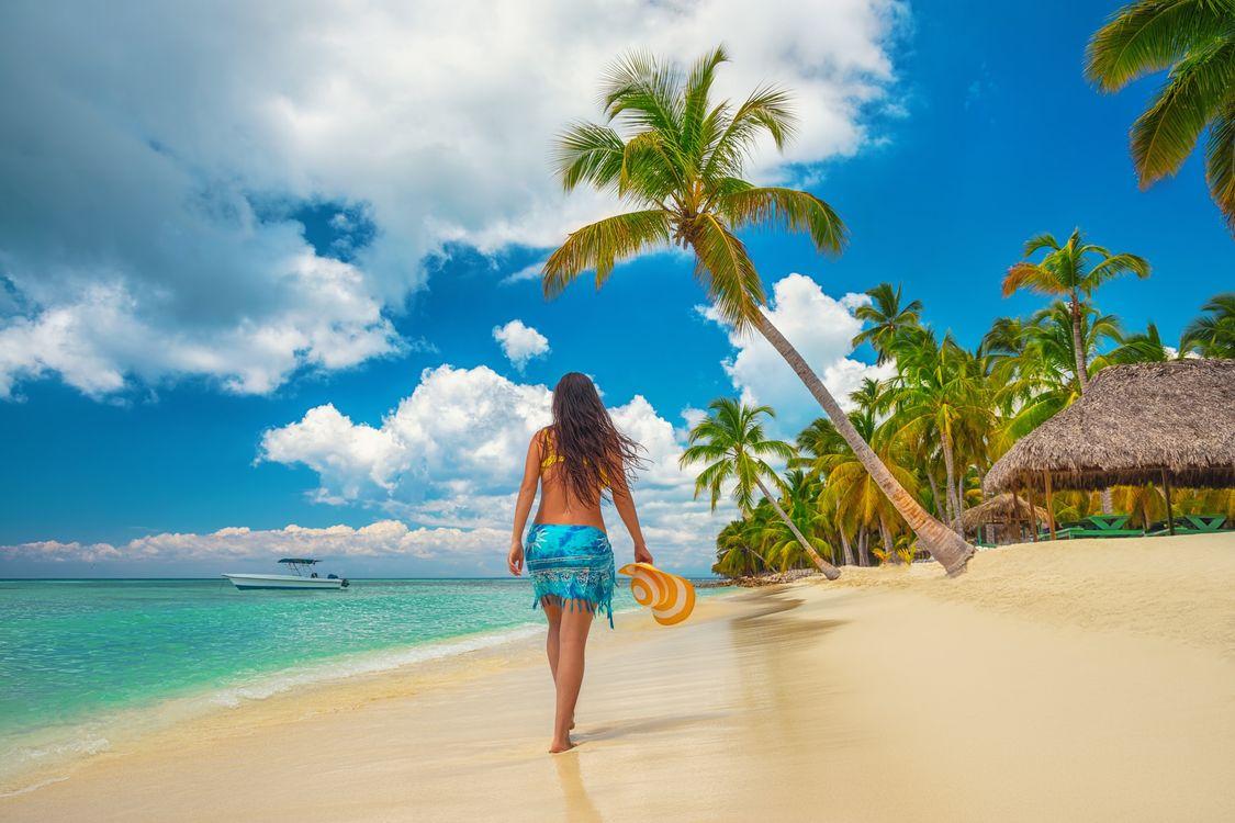 Фото бесплатно tropical beach, Карибы, море - на рабочий стол