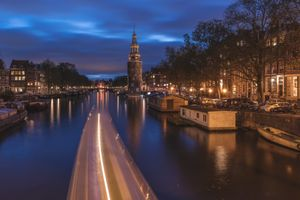 Photo free illumination, Amsterdam, Holland
