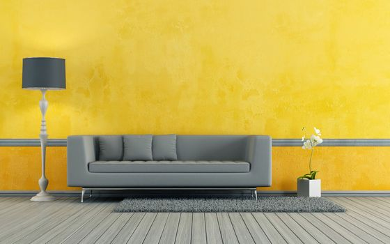 Photo free living room, art nouveau, sofa