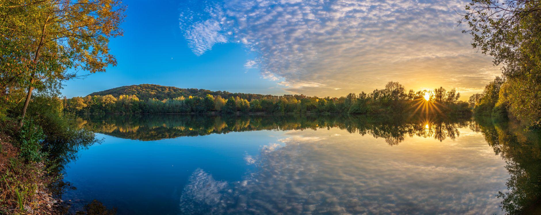 Фото бесплатно Озеро Дондорф, Рейн-Зиг, Северный Рейн-Вестфалия - на рабочий стол