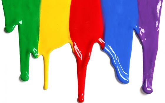 Фото бесплатно текущая краска, фон, стекать