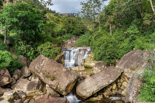 Фото бесплатно Waterfalls in Sri Lanka, река, камни