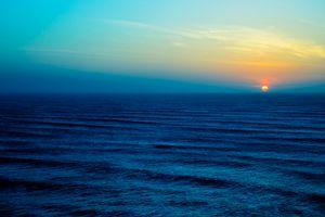 Фото бесплатно море, небо, облака