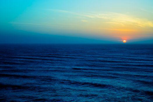 Заставки море,небо,облака,горизонт,природа,пейзаж,закат,волны,океан