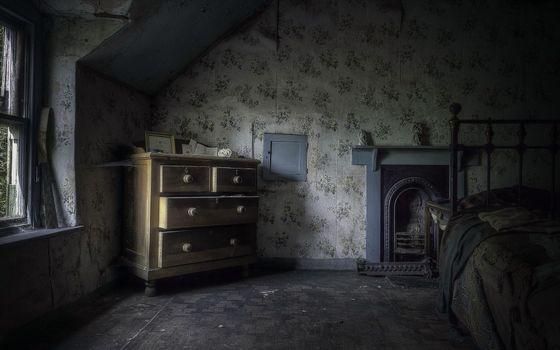 Photo free old room, dark theme, interior design