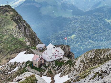 Photo free alpine, hut, Alpstein