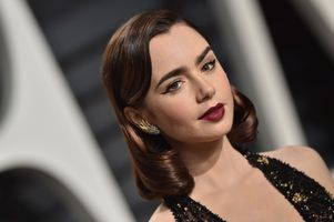 Photo free Lily Collins, girls, celebrity