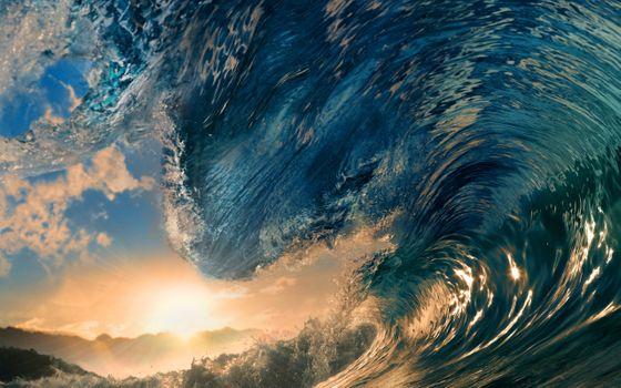 Фото бесплатно волна, океан, рай