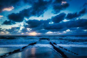 Заставки облака, исландия, пейзаж