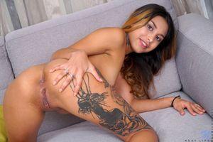 Фото бесплатно Roxy Lips, голая девушка, обнаженная девушка