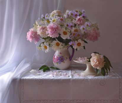 Download bouquet, still life with photo of the site fonwall