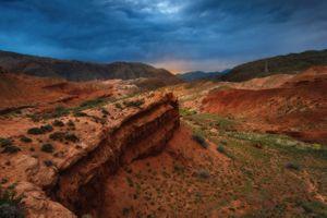 Рассвет в каньоны Конорчек · бесплатное фото