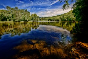 Бесплатные фото Shenandoah River State Park,Front Royal,Virginia,река,небо,лес,деревья