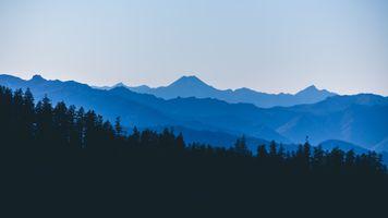 Заставки гора, обои, озеро
