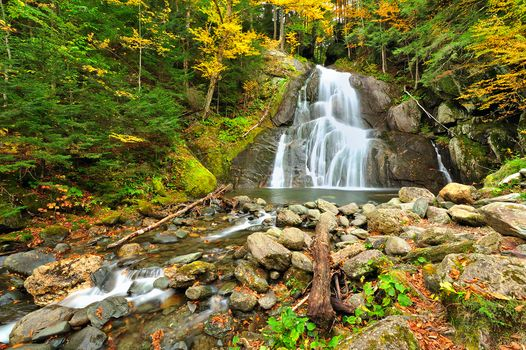 Photo free Glen Moss Waterfall, Granville, Vermont