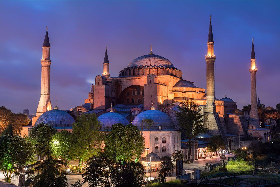 Фото бесплатно Istanbul, Hagia Sofia, город - на рабочий стол