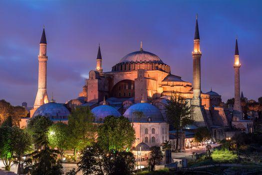 Фото бесплатно Istanbul, Hagia Sofia, город