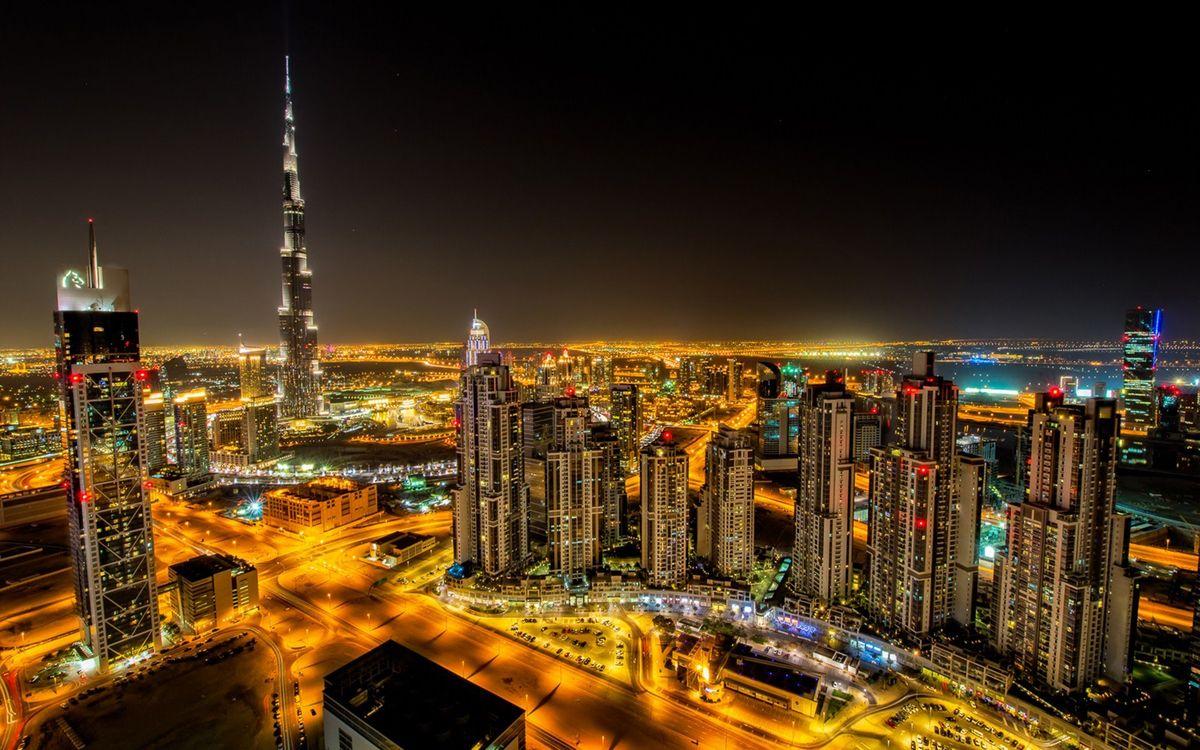 Фото бесплатно здания, город, Дубай - на рабочий стол