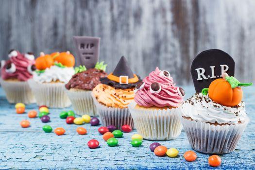 Кексы для осеннего праздника · бесплатное фото
