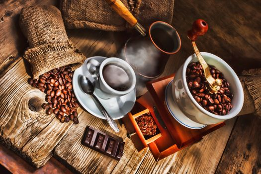 Coffee composition · free photo