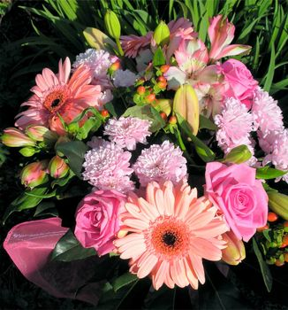 Photo free flowers, original, flower arrangement