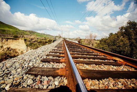 Бесплатные фото Америка,небо,железная дорога