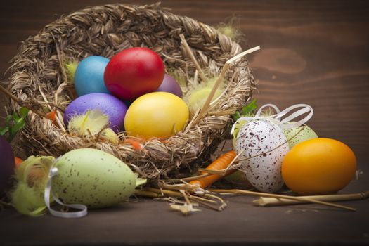 Фото бесплатно пасха, яйца, праздник