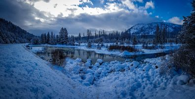 Photo free Cranbrook, Canada, winter
