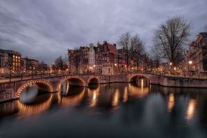 Photo free city, Amsterdam, architecture